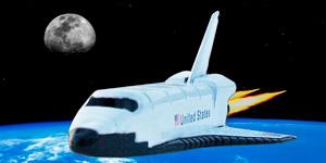 Space shuttle.  Новые игрушки для мальчиков.
